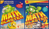 MATH BLASTER 1 AND 2 SPOT & LOST CITY +1Clk Macintosh OSX Install