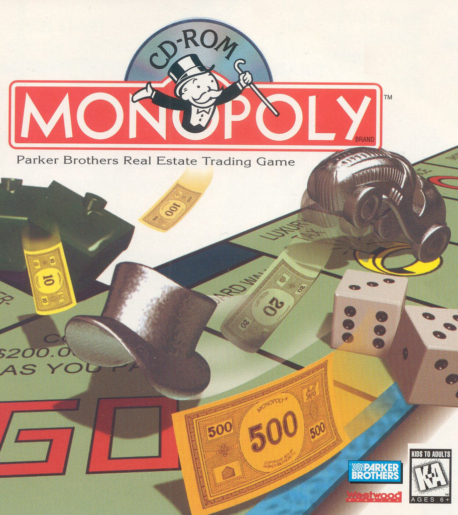 MONOPOLY PC 1995 WESTWOOD +1Clk Windows 10 8 7 Vista XP Install