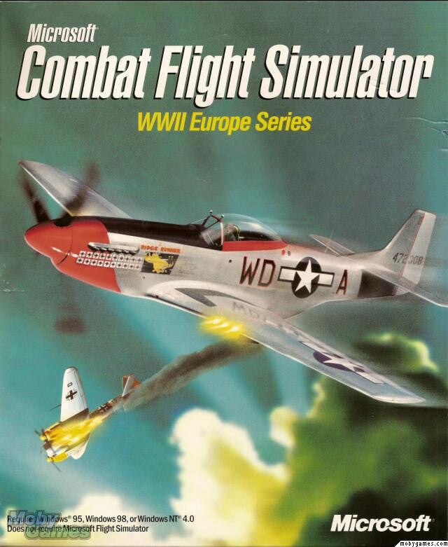 MICROSOFT COMBAT FLIGHT SIMULATOR +1Clk Windows 10 8 7 Vista XP Install