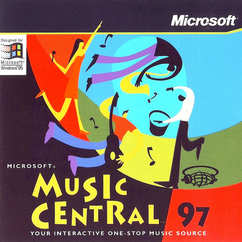 MICROSOFT MUSIC CENTRAL '97 +1Clk Windows 10 8 7 Vista XP Install