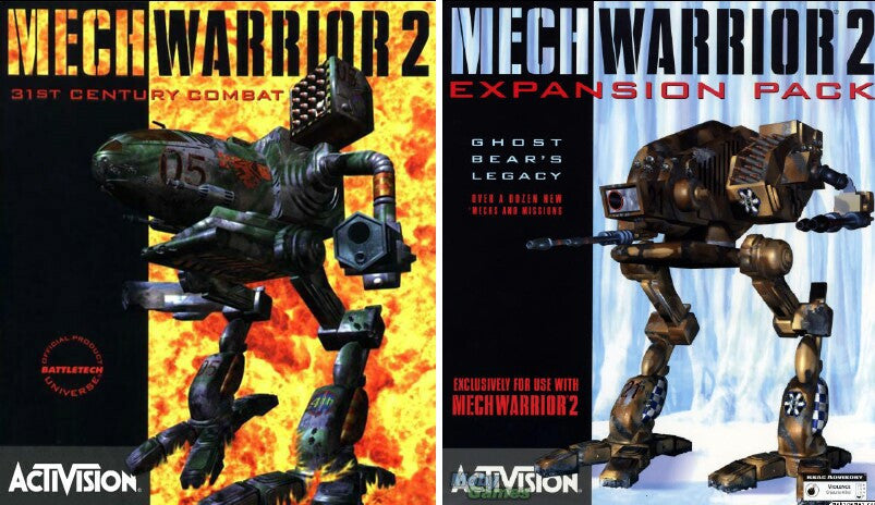 MECHWARRIOR II 2 and GHOST BEAR EXPANSION +1Clk Windows 10 8 7 Vista XP Install