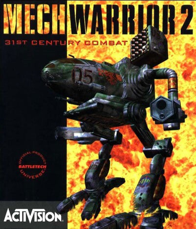 MECHWARRIOR II 2 +1Clk Windows 10 8 7 Vista XP Install