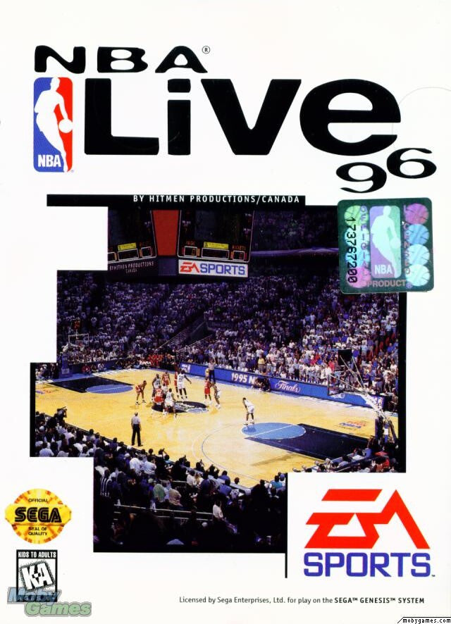 NBA LIVE '96 +1Clk Windows 10 8 7 Vista XP Install