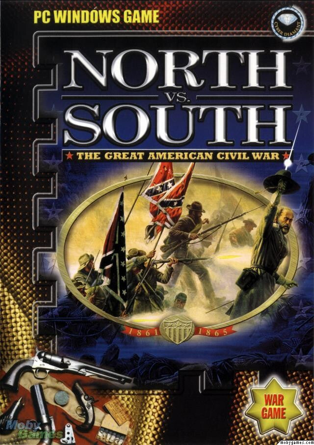 NORTH VS. SOUTH THE GREAT AMERICAN CIVIL WAR PC +1Clk Windows 10 8 7 Vista XP Install