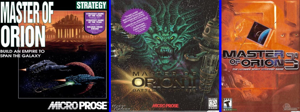 MASTER OF ORION 1 2 3 TRILOGY +1Clk Windows 10 8 7 Vista XP Install