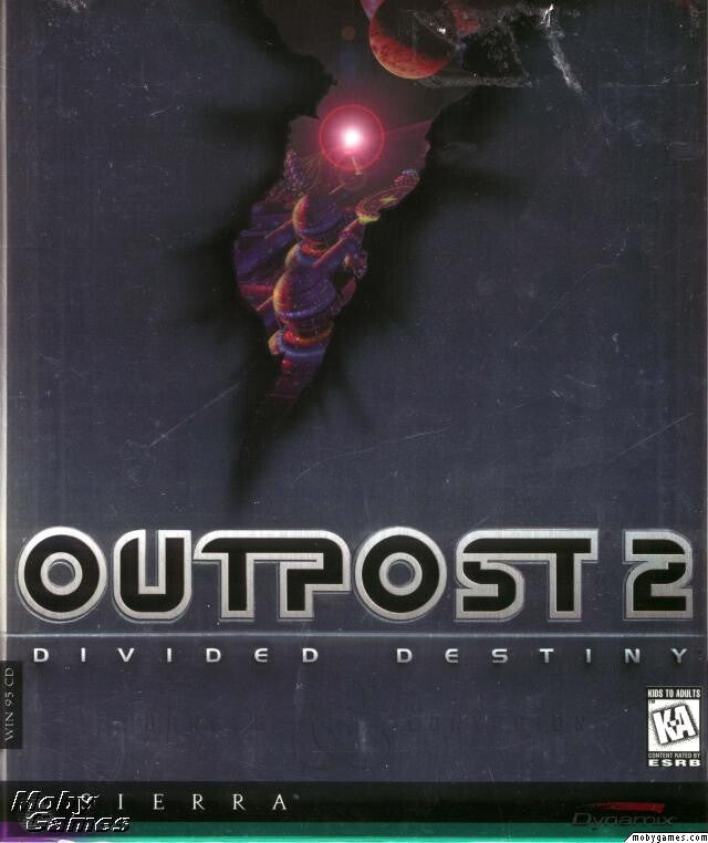 OUTPOST 2 DIVIDED DESTINY +1Clk Windows 10 8 7 Vista XP Install