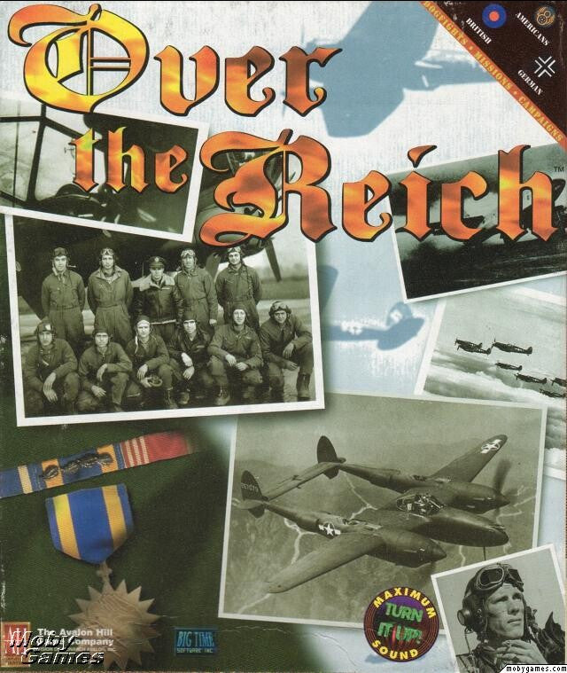 OVER THE REICH AVALON HILL +1Clk Windows 10 8 7 Vista XP Install