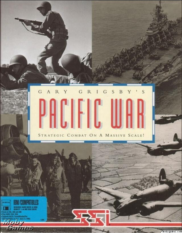GARY GRIGSBY'S PACIFIC WAR +1Clk Windows 10 8 7 Vista XP Install