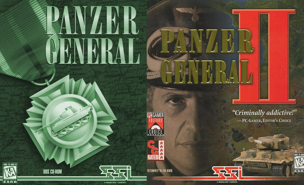 PANZER GENERAL I & II +1Clk Windows 10 8 7 Vista XP Install