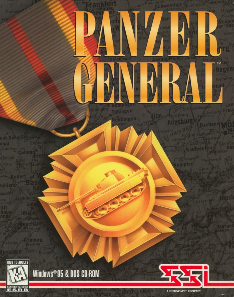 PANZER GENERAL 95 +1Clk Windows 10 8 7 Vista XP Install