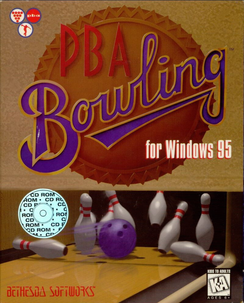 PBA BOWLING PC GAME 1995 EDITION +1Clk Windows 10 8 7 Vista XP Install