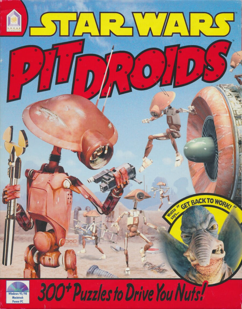 STAR WARS PIT DROIDS +1Clk Windows 10 8 7 Vista XP Install