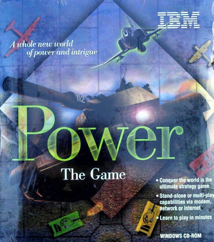 POWER: THE GAME +1Clk Windows 10 8 7 Vista XP Install