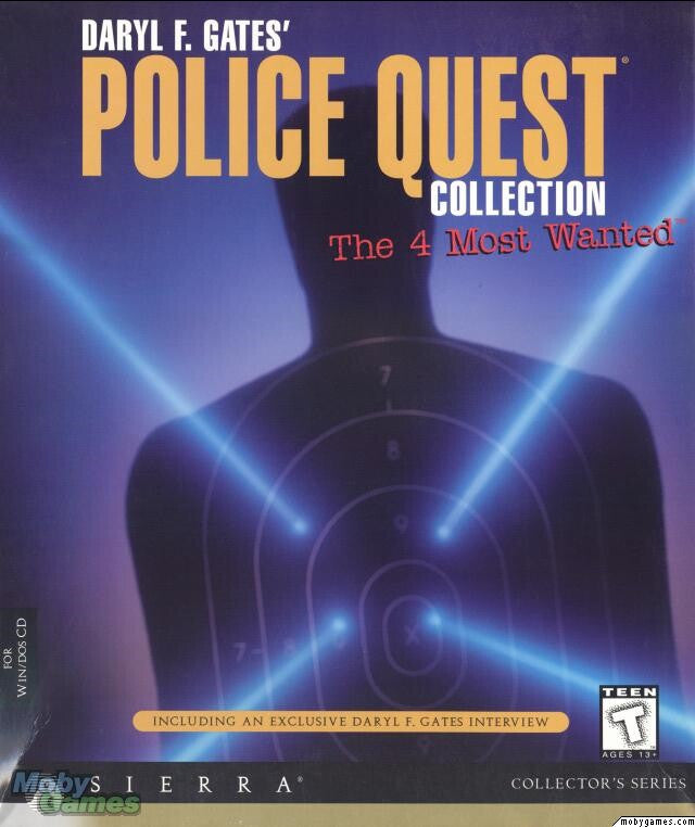 POLICE QUEST 1 2 3 4 +1Clk Windows 10 8 7 Vista XP Install