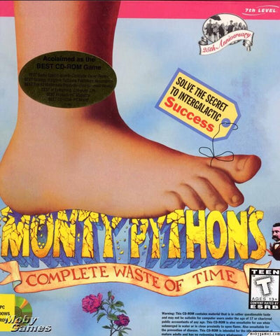 MONTY PYTHON'S COMPLETE WASTE OF TIME MAC GAME +1Clk Macintosh OSX Install