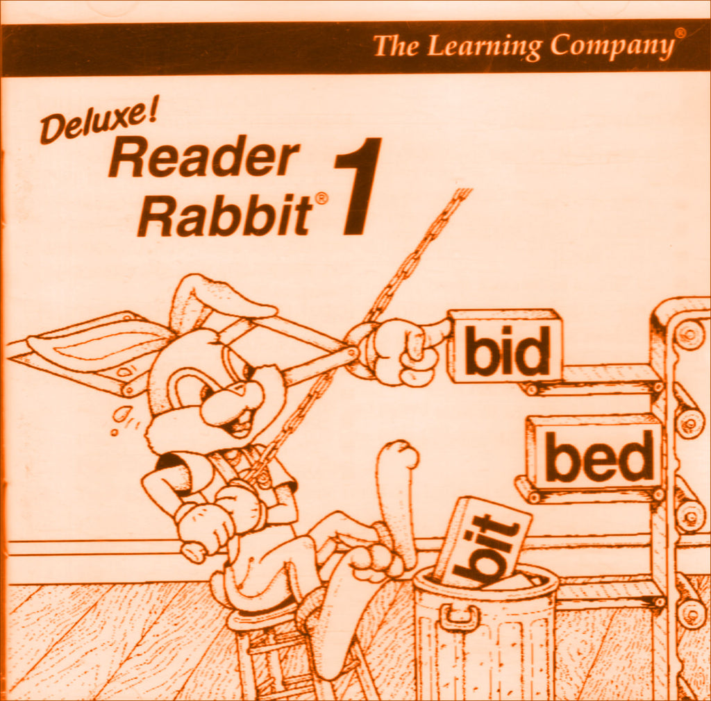 READER RABBIT DELUXE 1996 +1Clk Macintosh OSX Install