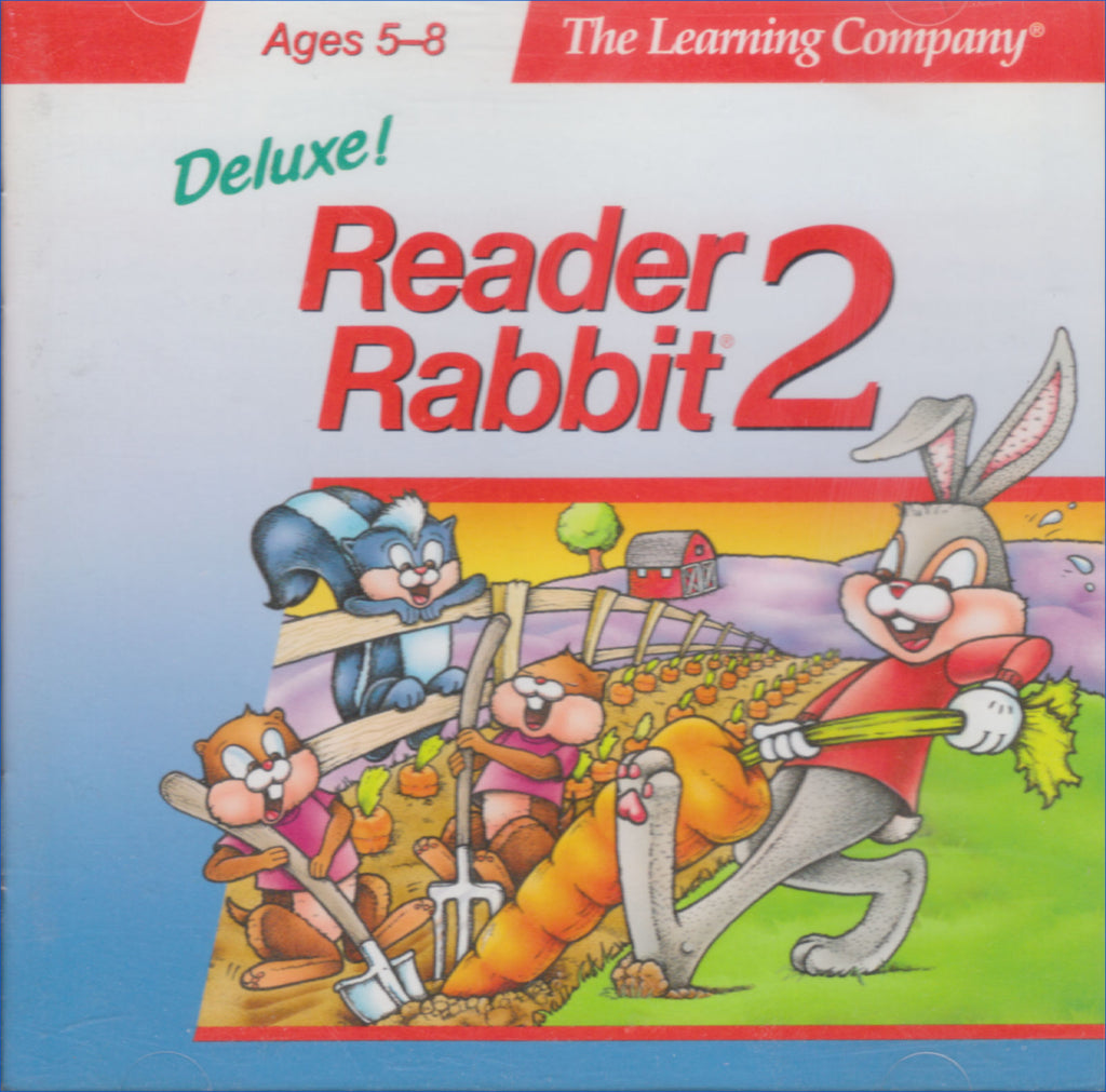 READER RABBIT 2 DELUXE 1996 +1Clk Macintosh OSX Install