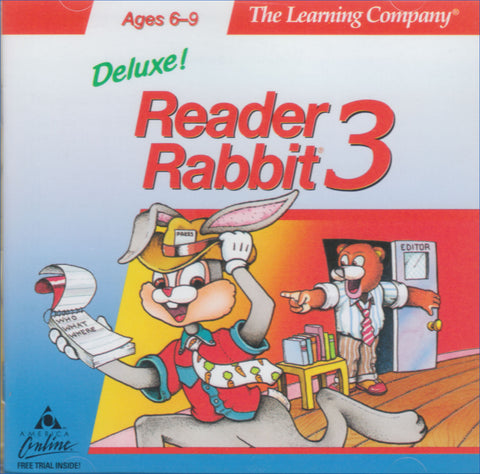 READER RABBIT 3 DELUXE 1996 +1Clk Macintosh OSX Install