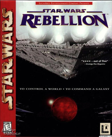 STAR WARS REBELLION +1Clk Windows 10 8 7 Vista XP Install