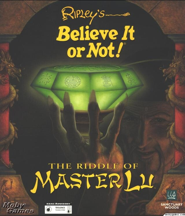 THE RIDDLE OF MASTER LU +1Clk Windows 10 8 7 Vista XP Install