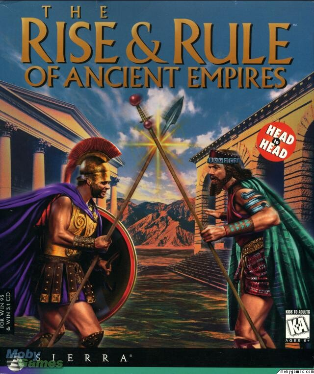 THE RISE & RULE OF ANCIENT EMPIRES SIERRA +1Clk Windows 10 8 7 Vista XP Install
