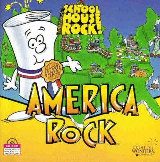 SCHOOLHOUSE AMERICA ROCK +1Clk Windows 10 8 7 Vista XP Install