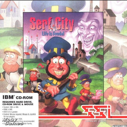 SERF CITY / THE SETTLERS 1 +1Clk Windows 10 8 7 Vista XP Install