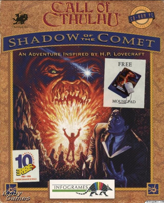 CALL OF CTHULHU: SHADOW OF THE COMET +1Clk Windows 10 8 7 Vista XP Install