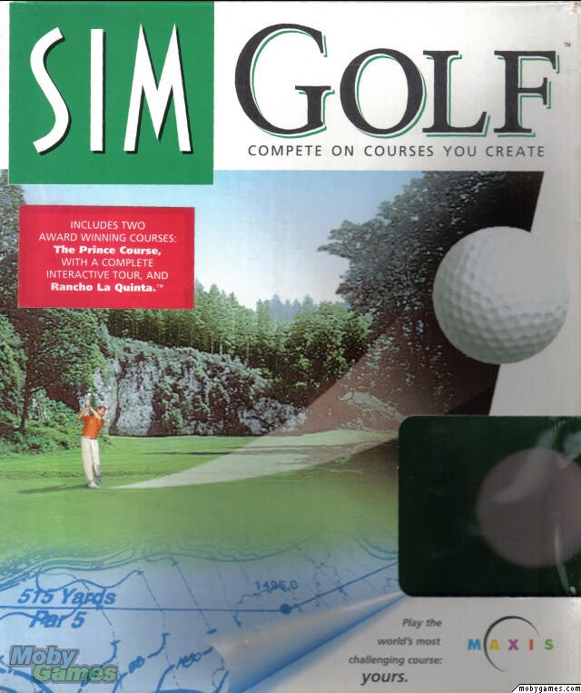SIM GOLF +1Clk Windows 10 8 7 Vista XP Install
