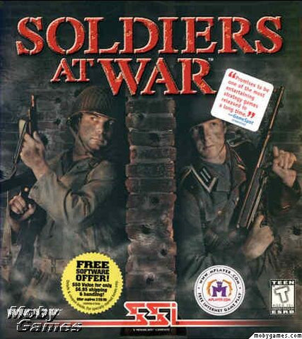 SOLDIERS AT WAR PC GAME +1Clk Windows 10 8 7 Vista XP Install