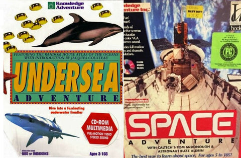 UNDERSEA SPEED SPACE KNOWLEDGE ADVENTURE +1Clk Windows 10 8 7 Vista XP Install