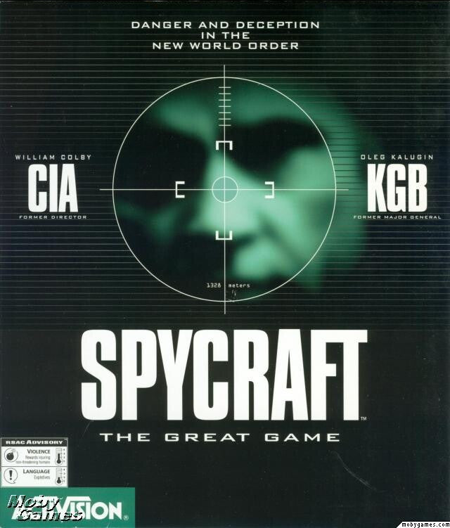SPYCRAFT THE GREAT GAME +1Clk Windows 10 8 7 Vista XP Install