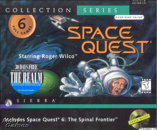 SPACE QUEST 1 2 3 4 5 6 +1Clk Windows 10 8 7 Vista XP Install