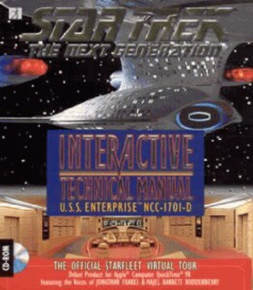 STAR TREK INTERACTIVE TECHNICAL MANUAL +1Clk Windows 10 8 7 Vista XP Install