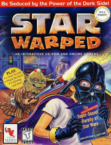 STAR WARPED PC GAME PARODY +1Clk Windows 10 8 7 Vista XP Install