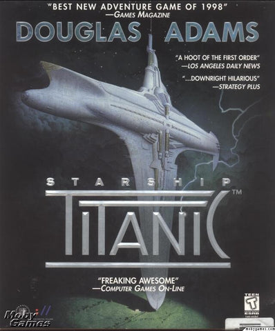 STARSHIP TITANIC PC GAME +1Clk Windows 10 8 7 Vista XP Install