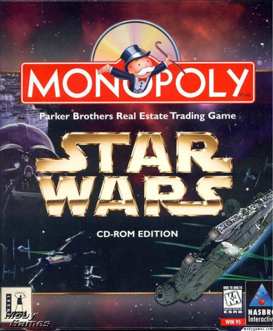 STAR WARS MONOPOLY +1Clk Windows 10 8 7 Vista XP Install