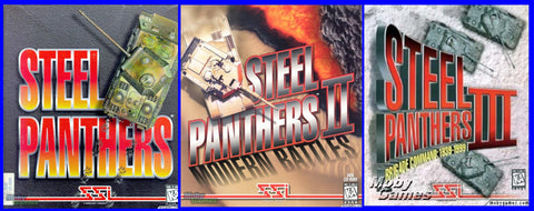 STEEL PANTHERS 1-3 TRILOGY +1Clk Windows 10 8 7 Vista XP Install