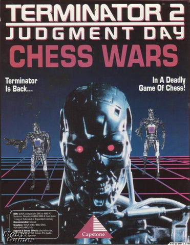 TERMINATOR 2 CHESS WARS +1Clk Windows 10 8 7 Vista XP Install