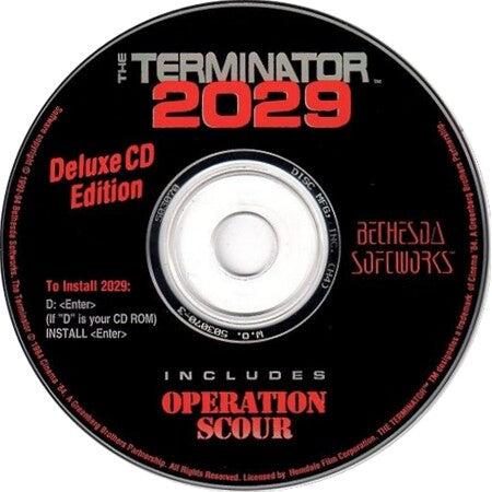 TERMINATOR 2029 & OPERATION SCOUR PC GAME +1Clk Windows 10 8 7 Vista XP Install