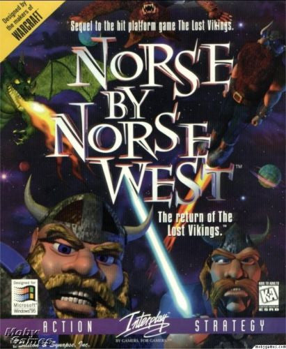 NORSE BY NORSE WEST THE LOST VIKINGS +1Clk Windows 10 8 7 Vista XP Install