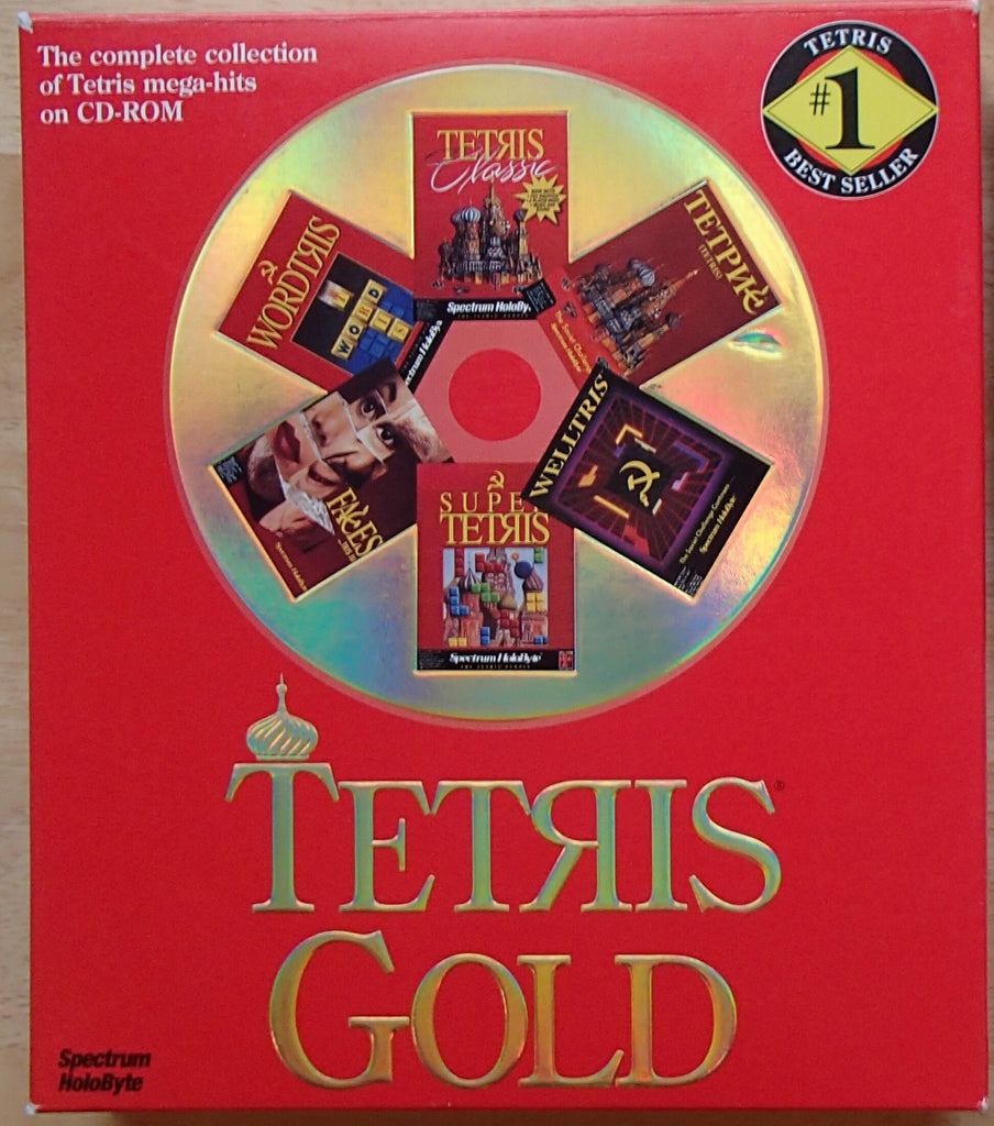 TETRIS GOLD +1Clk Windows 10 8 7 Vista XP Install