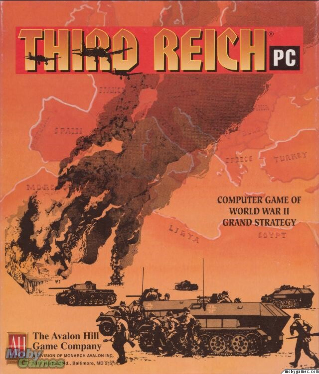 THIRD REICH AVALON HILL PC GAME +1Clk Macintosh OSX Install