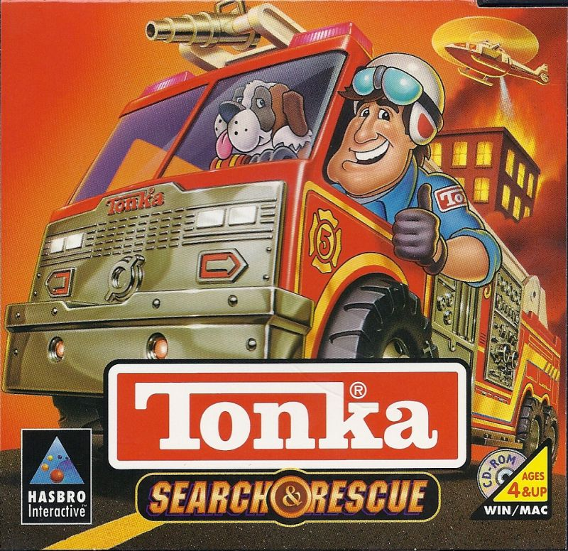 TONKA SEARCH & RESCUE 1997 PC GAME +1Clk Windows 10 8 7 Vista XP Install