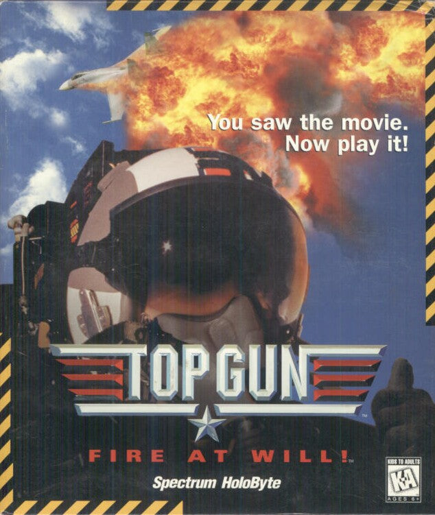 TOP GUN FIRE AT WILL +1Clk Windows 10 8 7 Vista XP Install