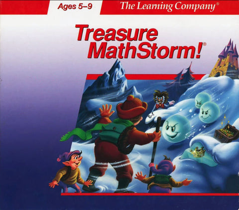 TREASURE MATHSTORM MATH STORM TLC +1Clk Windows 10 8 7 Vista XP Install