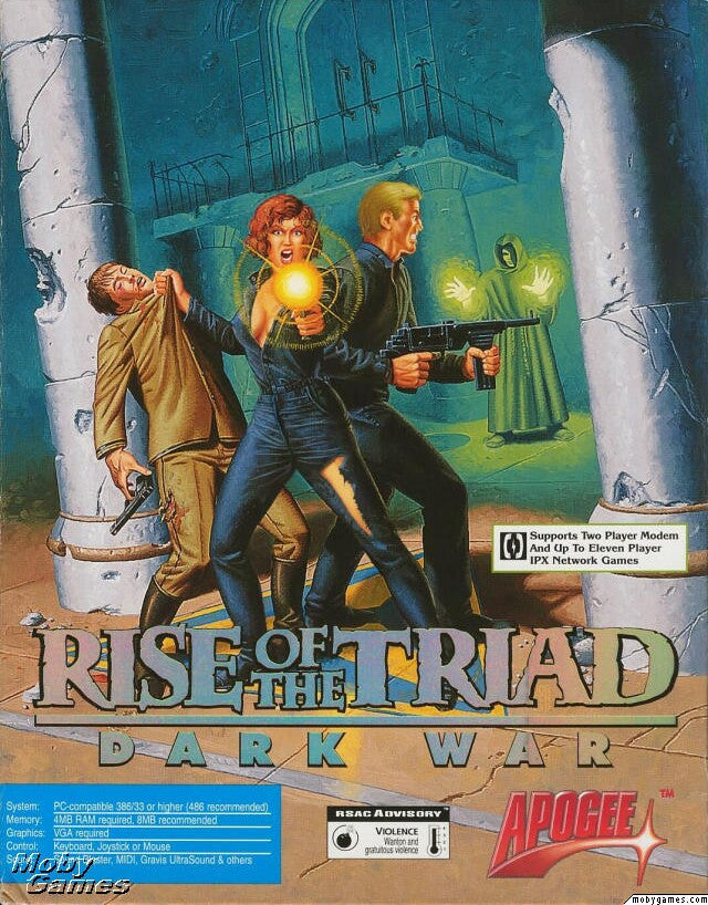 RISE OF THE TRIAD DARK WAR +1Clk Windows 10 8 7 Vista XP Install