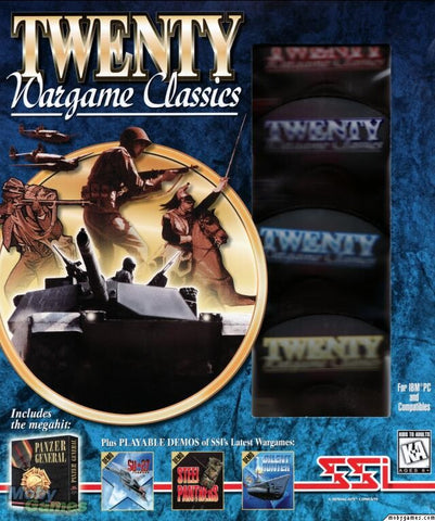 TWENTY WARGAMES CLASSICS +1Clk Windows 10 8 7 Vista XP Install
