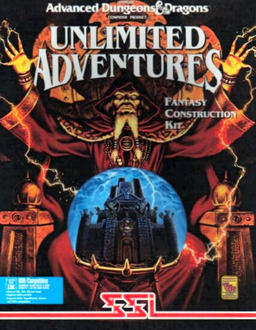 AD&D UNLIMITED ADVENTURES +1Clk Windows 10 8 7 Vista XP Install