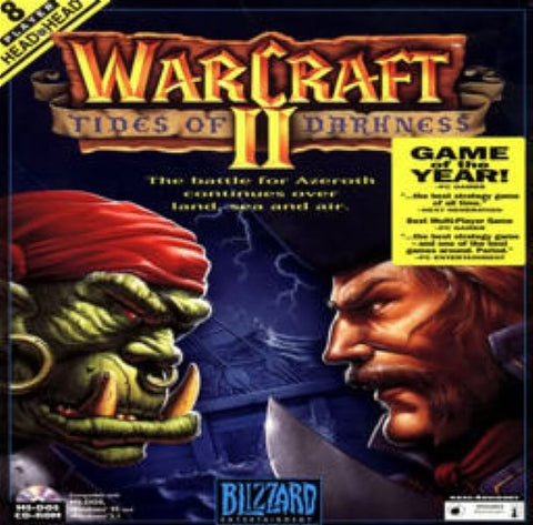 WARCRAFT II 2 TIDES of DARKNESS +1Clk Macintosh OSX Install